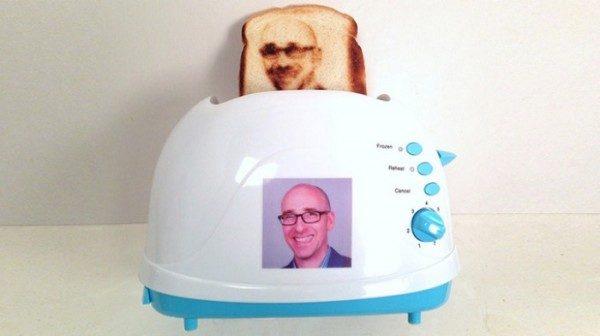 Selfie-Toaster, il tostapane personalizzato con foto