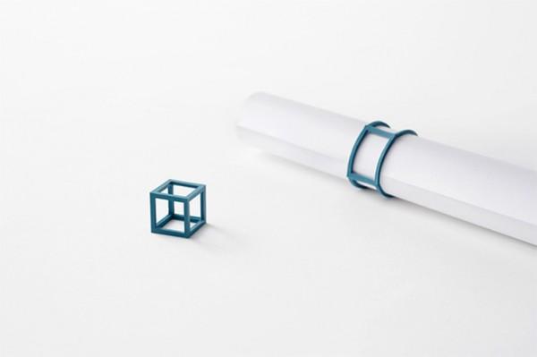 Elastici semi rigidi design geometrico