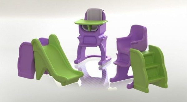 Step Up, il sediolone che diventa scivolo