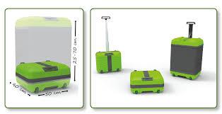Fugu, la valigia che si espande