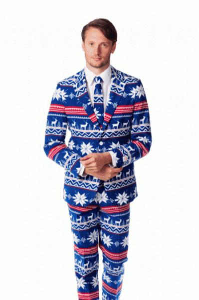 Abito natalizio per un look eccentrico