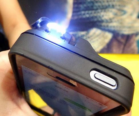 Sun Gun Case, custodia iPhone per autodifesa