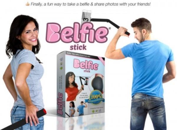Belfie Sitck: il selfie del lato B