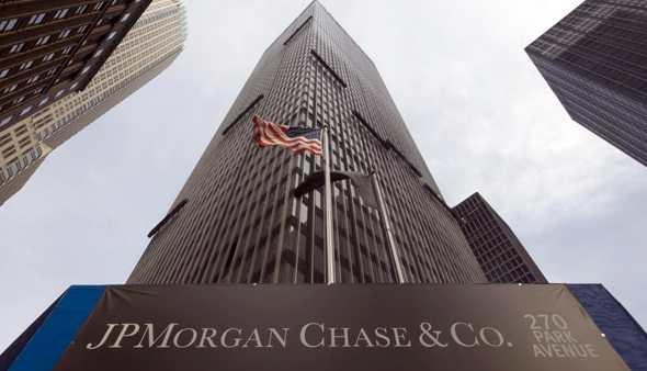 JP Morgan utili trimestrali in calo