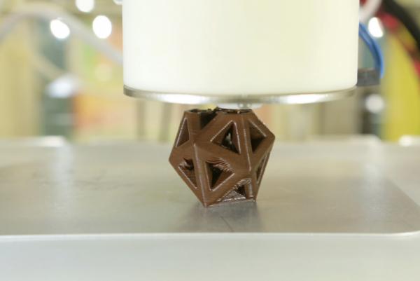 CocoJet, stampante 3D per cioccolato