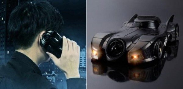 Custodia smartphone design Batmobile