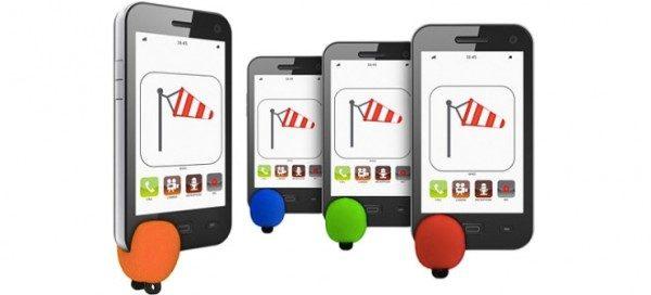 Accessorio smartphone antivento per conversazioni più chiare