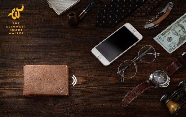 Portafogli tecnologico con Bluetooth Woolet