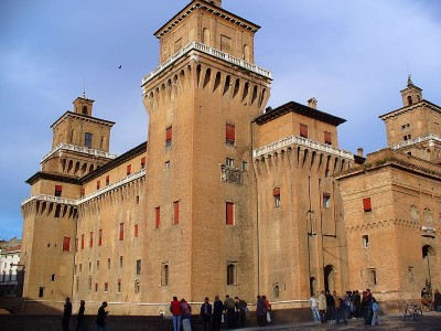 Fantasmi dei due amanti nel castello Estense