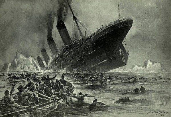 Il Titanic e l'antico sarcofago egizio