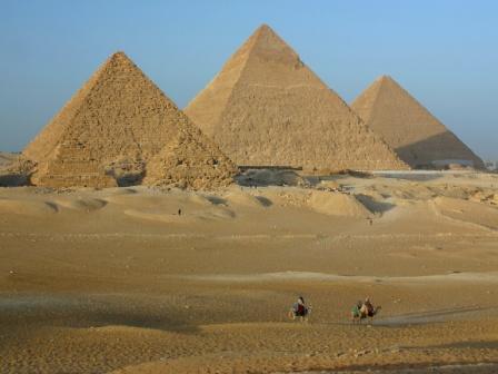 Allineamento delle piramidi di Giza