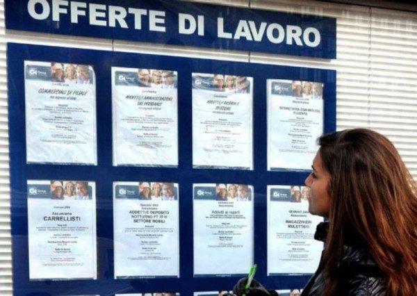 Disoccupazione Italia raddoppiata dal 2007