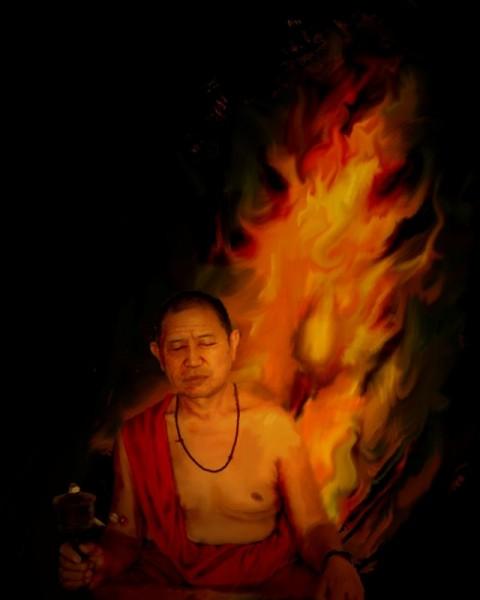 Yoga tibetano del calore il TUMO