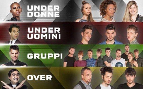 X Factor 2015 concorrenti ammessi ai Live