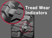 Controllare usura pneumatici