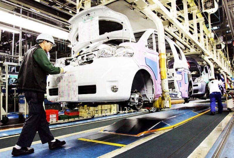 Produzione industriale giù a novembre