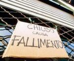 Fallimenti imprese in calo dopo 8 anni