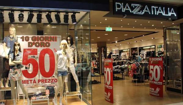 Piazza Italia offerta lavoro Store Manager