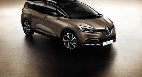 Renault Grand Scenic 2016 foto ufficiali
