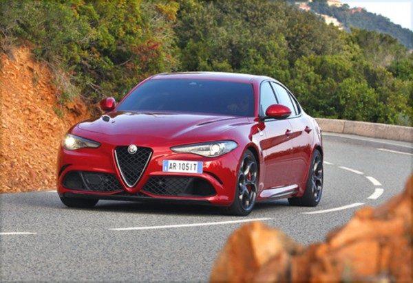 Alfa Romeo Giulia 5 stelle crash test Euro NCAP
