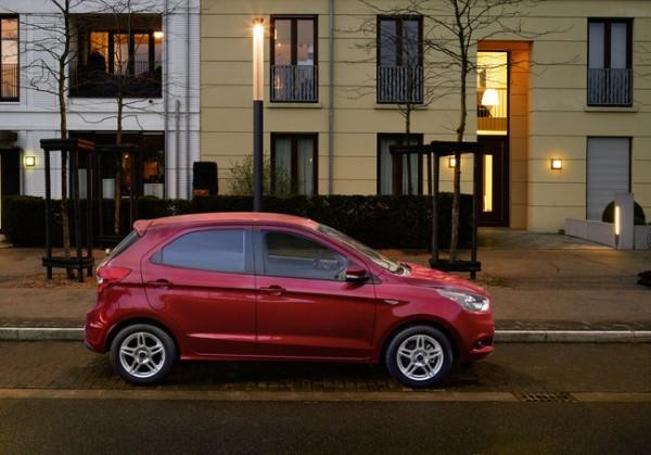 Ford Ka+ foto e prezzi ufficiali