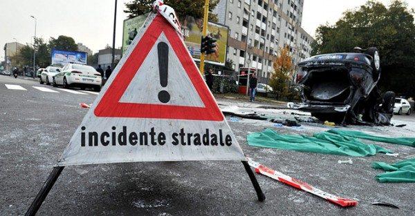 Incidenti e vittime stradali in crescita