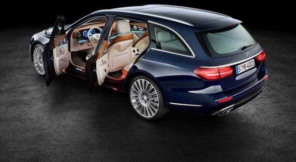 Mercedes Classe E Station Wagon immagini ufficiali
