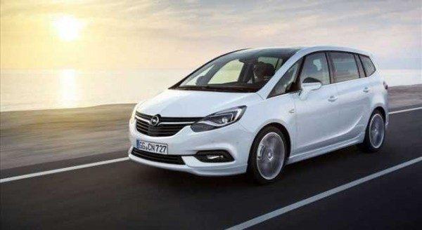 Opel Zafira 2016 foto e dettagli