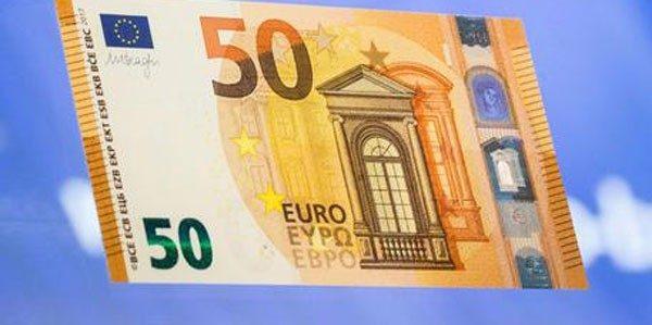 Nuova banconota da 50 euro ufficiale
