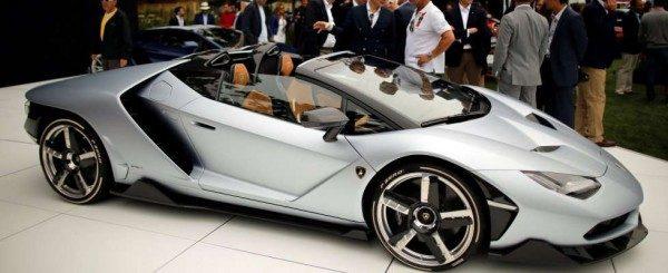 Lamborghini Centenario Roadster: foto e dettagli