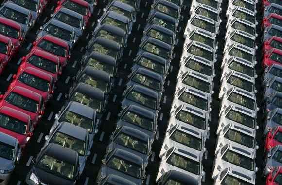 Auto Europa vendite in calo