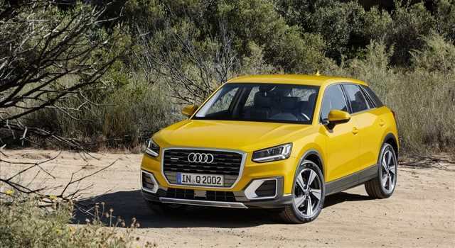 Audi Q2 foto e motori