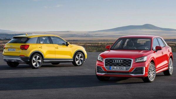 Audi Q2: foto e nuovi motori
