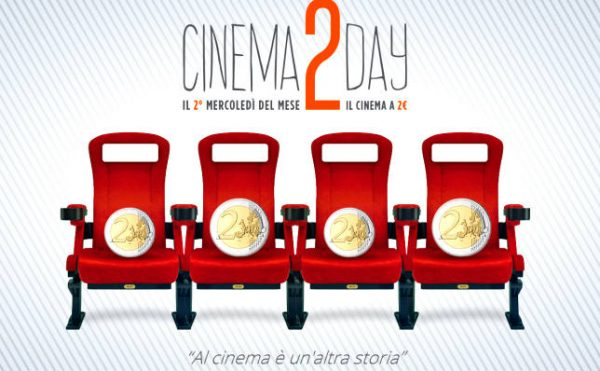 Cinema a due euro il mercoledì