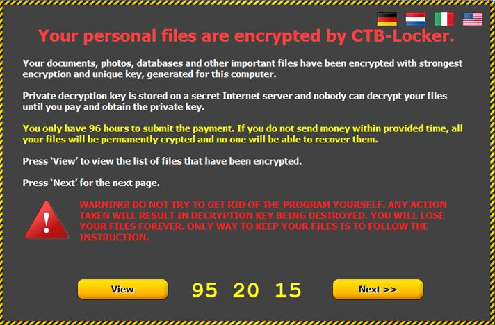 ransomware computer hacker
