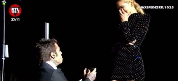 Fedez proposta di matrimonio a Chiara Ferragni