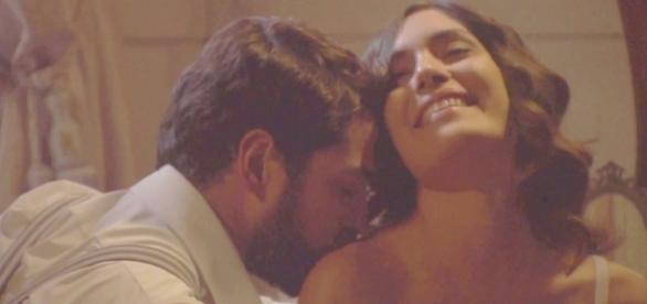 Anticipazioni Il Segreto: Hernando e Camila a letto insieme
