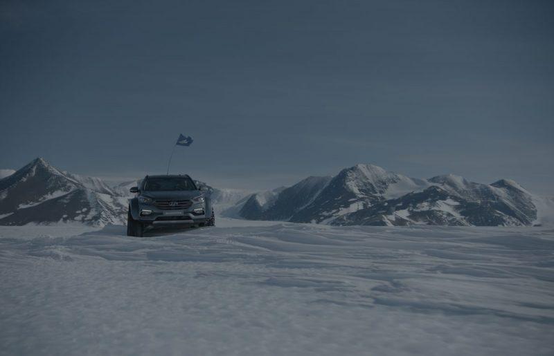 Nuova Hunday Santa FE: un'avventura incredibile tra i ghiacci