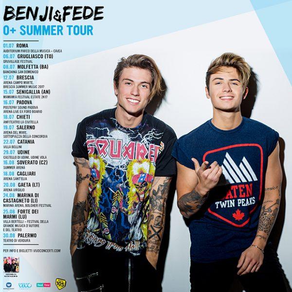 Benji&Fede date concerti estate 2017