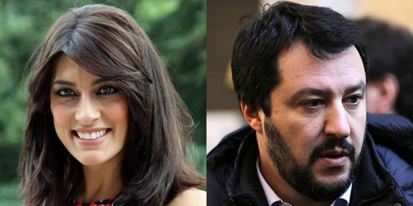 Matteo-Salvini tradisce Elisa-Isoardi