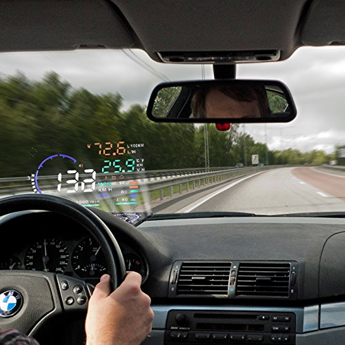 Head Up Display: info di viaggio sul tuo parabrezza